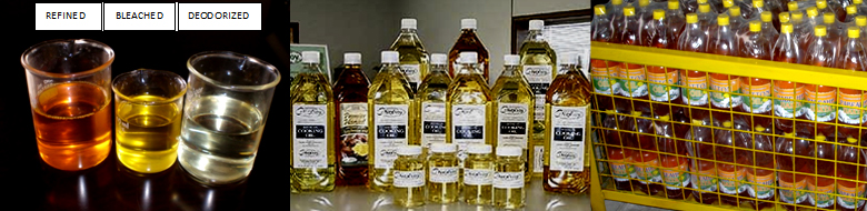 Vegetable Oil from crude to refined